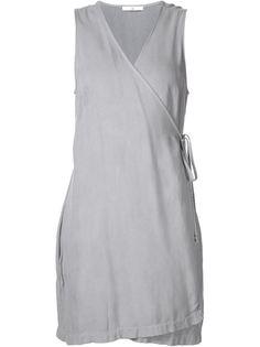мини-платье с запахом 321