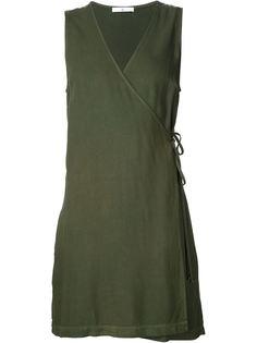 короткое платье с запахом 321