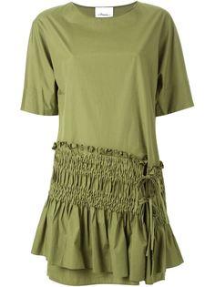 платье шифт с присборенной панелью 3.1 Phillip Lim