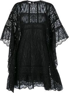 кружевное платье-кейп Valentino