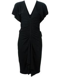 платье c V-образным вырезом  Versace