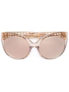 """солнцезащитные очки с оправой """"кошачий глаз"""" Linda Farrow"""