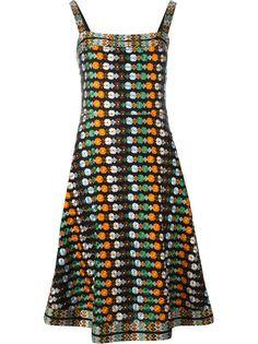 платье с цветочной вышивкой Tory Burch