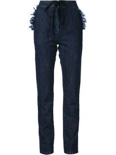 джинсовые брюки прямого кроя Tomas Maier