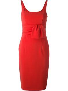 платье с квадратным вырезом Moschino