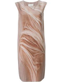 платье шифт с принтом  Maison Margiela