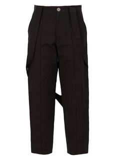брюки с ремешком Aganovich
