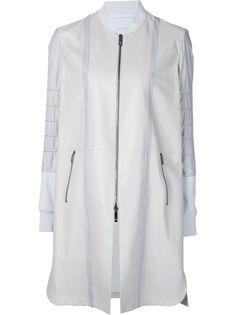 пальто на молнии с панельным дизайном Callens