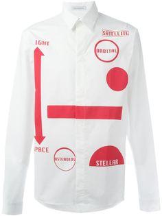 рубашка с принтом orbital  JW Anderson