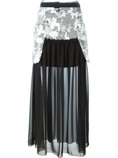 юбка макси с панельным дизайном  IM Isola Marras