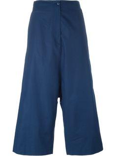 укороченные брюки с заниженной проймой IM Isola Marras