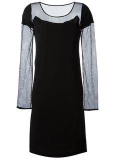 платье с сетчатыми рукавами  Maison Margiela