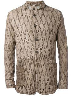 куртка с лазерной перфорацией  Giorgio Brato