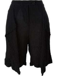 шорты с драпированными деталями  Lost & Found Ria Dunn