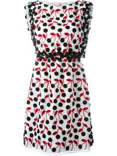 платье с принтом Giamba