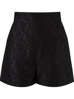 кружевные шорты с завышенной талией Martha Medeiros