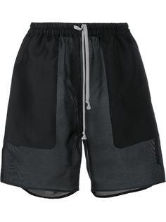 шорты боксеры из органзы Rick Owens