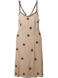 платье с вышивкой  Jupe By Jackie