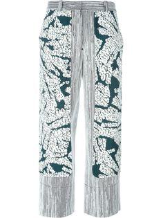широкие брюки с панельным дизайном Cédric Charlier