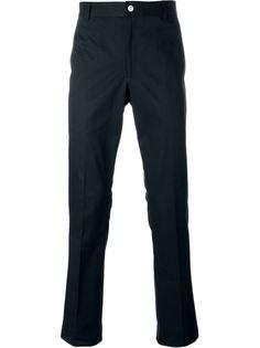 узкие брюки чинос Thom Browne
