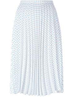 плиссированная юбка с узором в горох JW Anderson