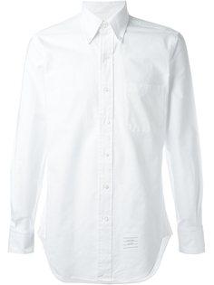 рубашка с косым воротником Thom Browne