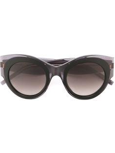 """солнцезащитные очки с оправой """"кошачий глаз"""" Pomellato"""