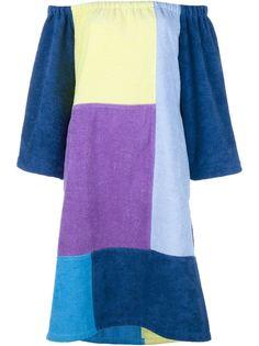 платье в стиле пэчворк  Lisa Marie Fernandez