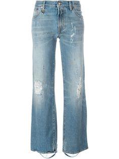 расклшенные джинсы Kilburn  R13