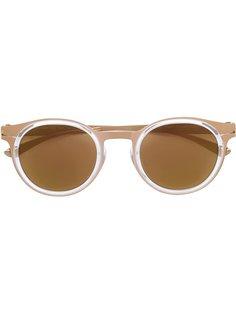 солнцезащитные очки округлой формы Mykita