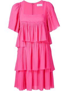 многоярусное платье с квадратным вырезом Sonia Rykiel