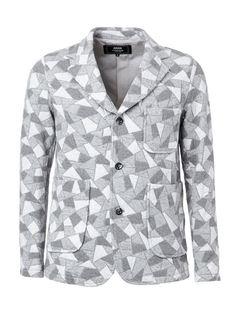пиджак с геометрическим принтом Anrealage