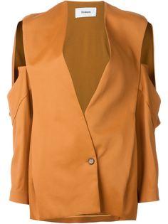 пиджак с вырезами на рукавах Chalayan