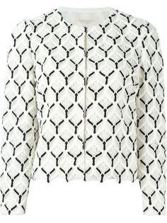 пиджак с вышивкой Giambattista Valli