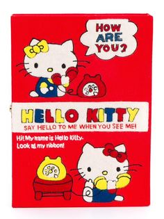 клатч Hello Kitty Book Olympia Le-Tan