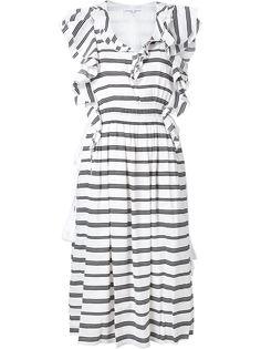 платье San Rafael с рюшами Apiece Apart
