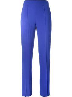 брюки со складками Emanuel Ungaro