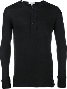 футболка Henley с длинными рукавами Merz B. Schwanen