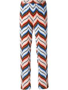 прямые брюки с геометрическим принтом Kenzo
