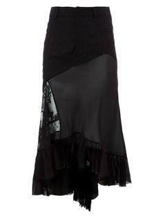 юбка асимметричного кроя  Haider Ackermann