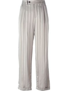 полосатые брюки прямого кроя Maison Margiela