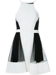 платье с панельным дизайном  David Koma