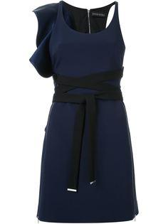 платье с рюшами David Koma