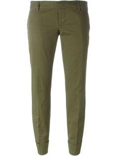 укороченные брюки кроя слим  Dsquared2