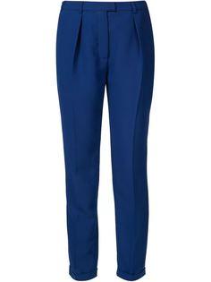 брюки со складками Carven