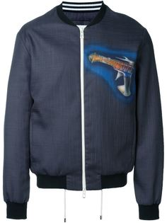 легка-куртка-бомбер с принтом Loewe