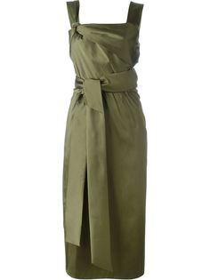 приталенное платье с поясом на талии 3.1 Phillip Lim