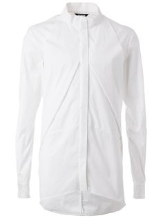 рубашка с закругленным подолом Moohong