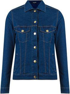 классическая джинсовая куртка с воротником-поло Amapô