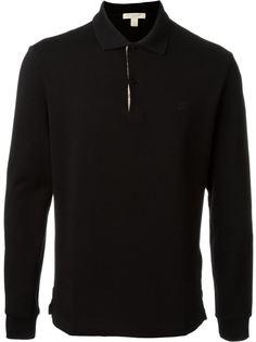 футболка-поло с длинными рукавами Burberry